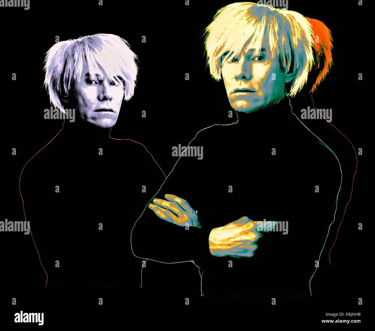Andy Warhol - Stock Image
