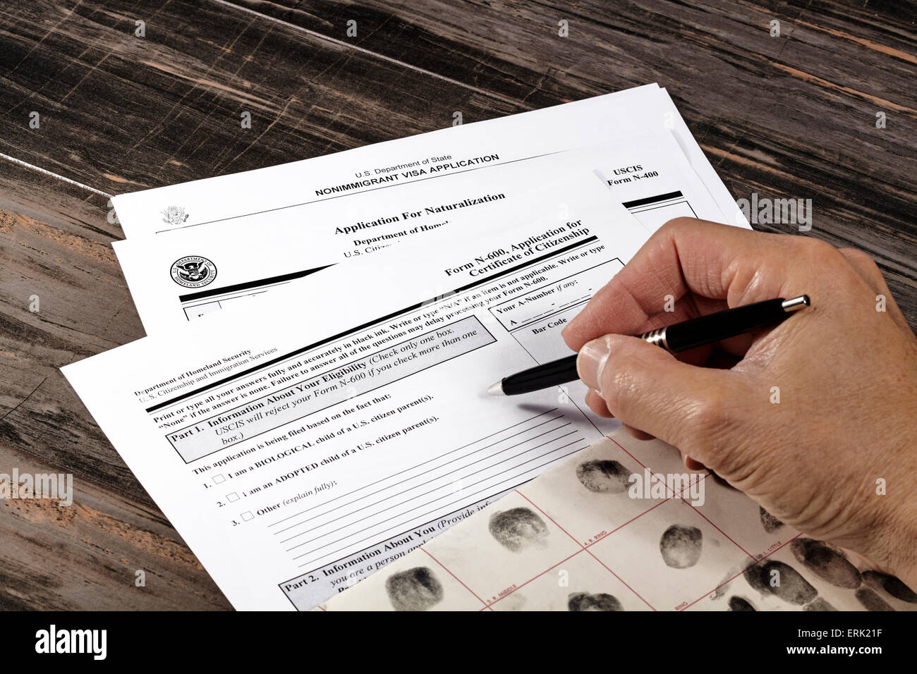 Immigration And Naturalization Stock Photos & Immigration