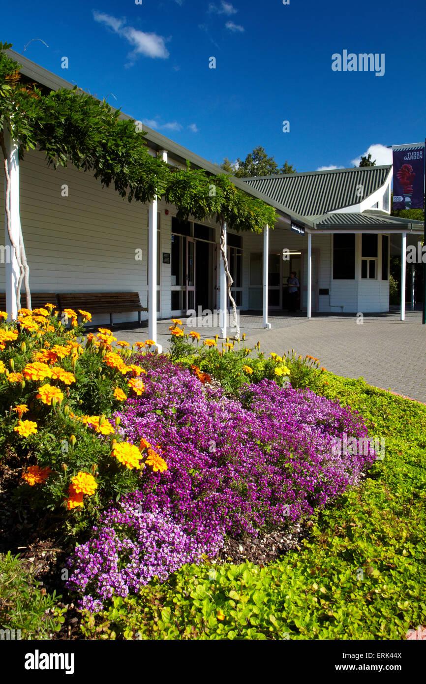 Pavilion, Hamilton Gardens, Waikato, North Island, New Zealand - Stock Image