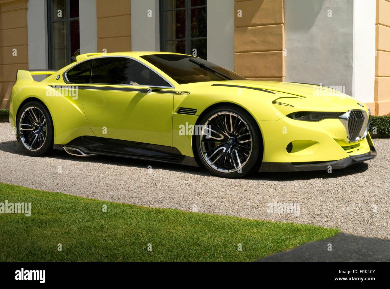BMW CSI Concept car 2015 - Stock Image