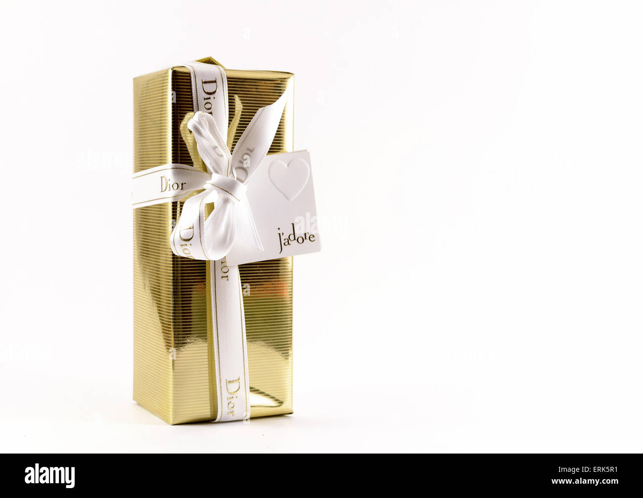 One of the leading perfumes in Russia Ufa for rich women who want to capture high culture on leading highstreets - Stock Image