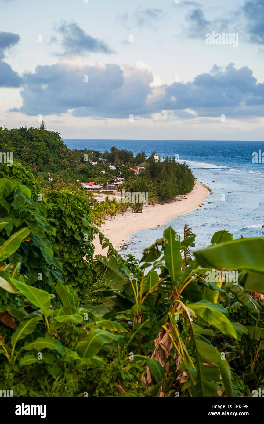 Tau Island, Manua Islands, American Samoa - Stock Image