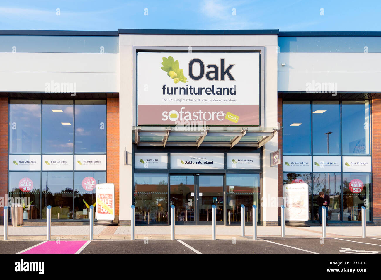 Oak Furniture Land Store Stock Photos Oak Furniture Land Store
