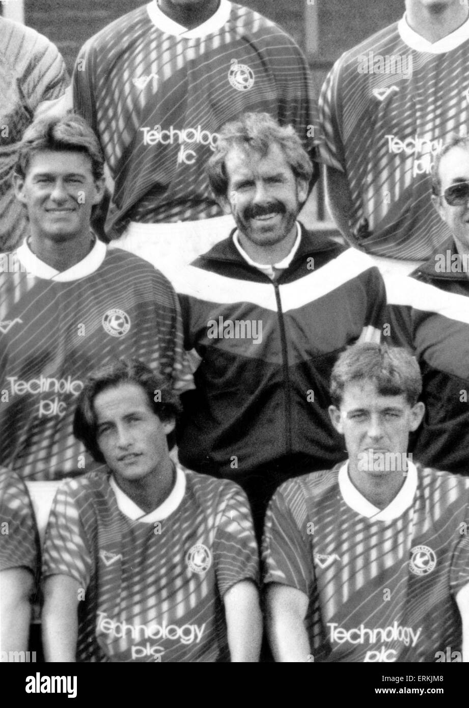 Tony Grealish. 16th Ausgust 1990. - Stock Image