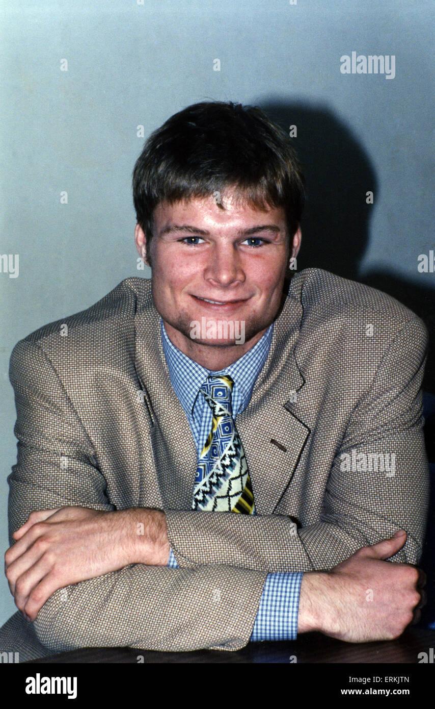 Steven Pressley, Coventry City Football Player, centre back, Circa 1995. - Stock Image