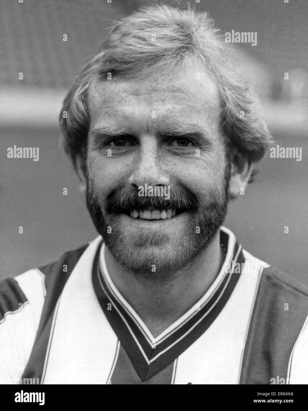 West Bromwich Albion player, Tony Gealish. 4th October 1984 - Stock Image