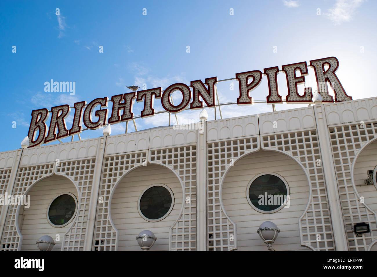 Brighton Pier - Stock Image