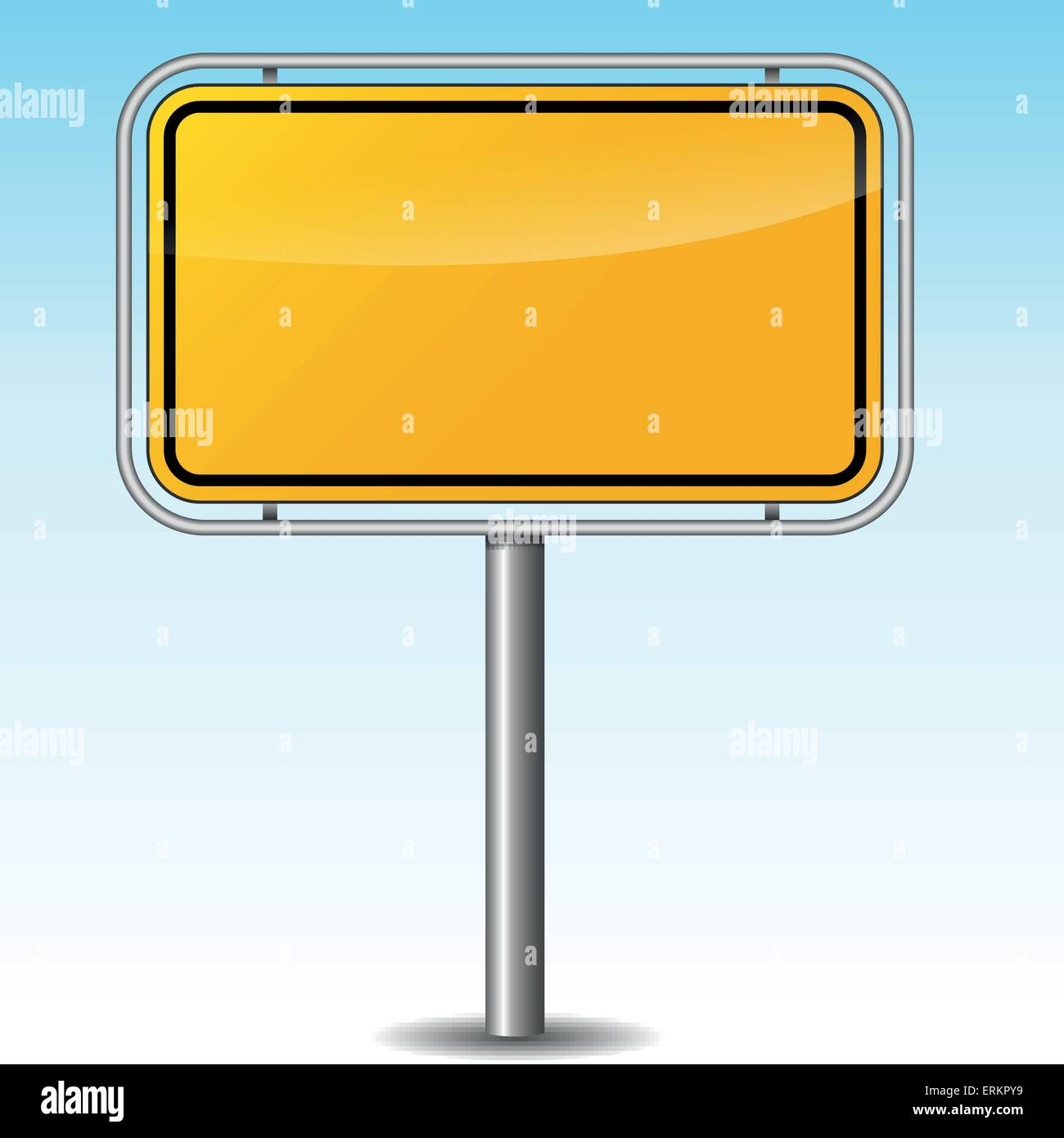 Road Name Sign Blank Stock Photos & Road Name Sign Blank Stock ...