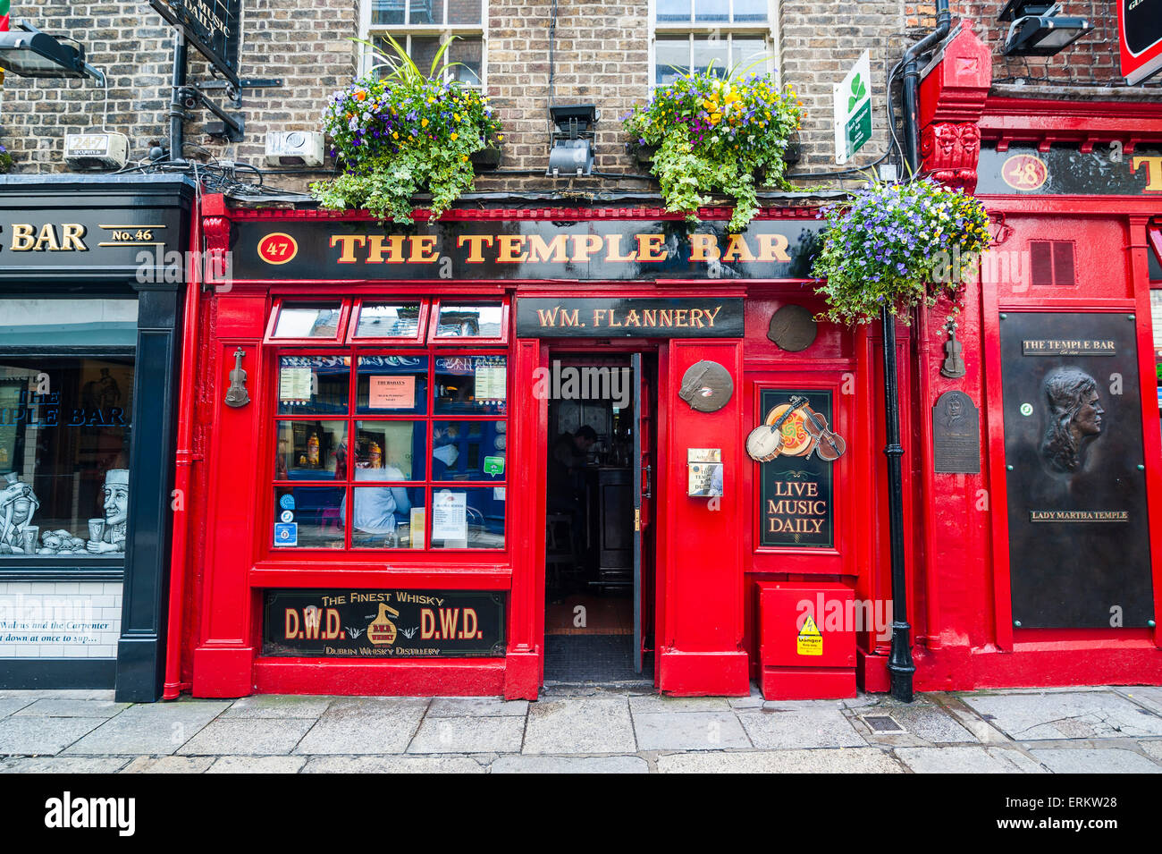 Temple Bar in Temple Street, Dublin, Republic of Ireland, Europe - Stock Image