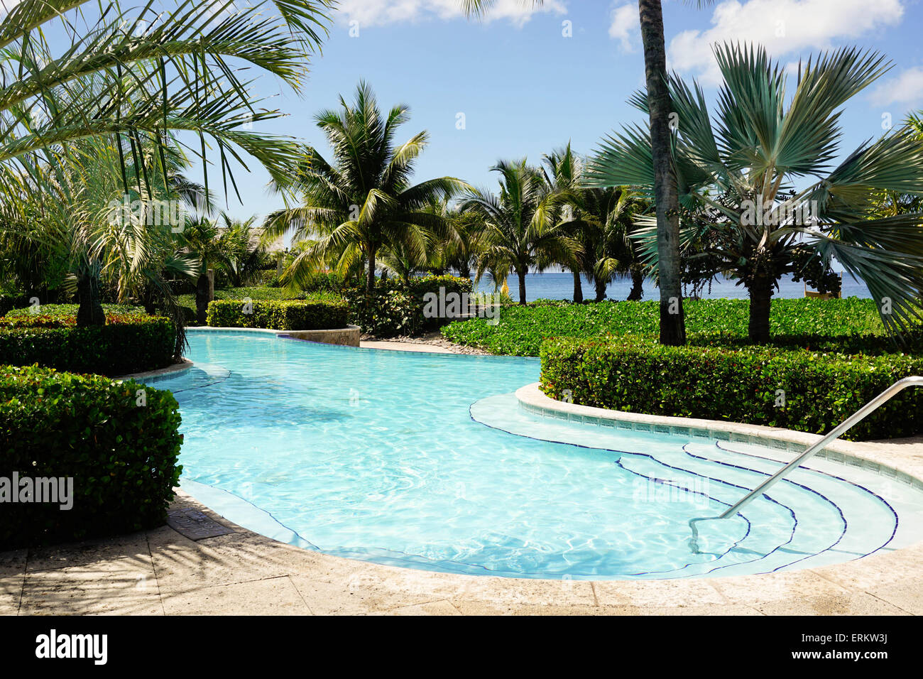 Four Seasons Hotel, Nevis, St. Kitts and Nevis, Leeward Islands, West Indies, Caribbean, Central America Stock Photo