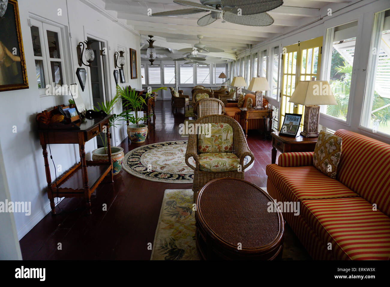 Old Plantation House, Nesbit Beach Club, Nevis, St. Kitts And Nevis,
