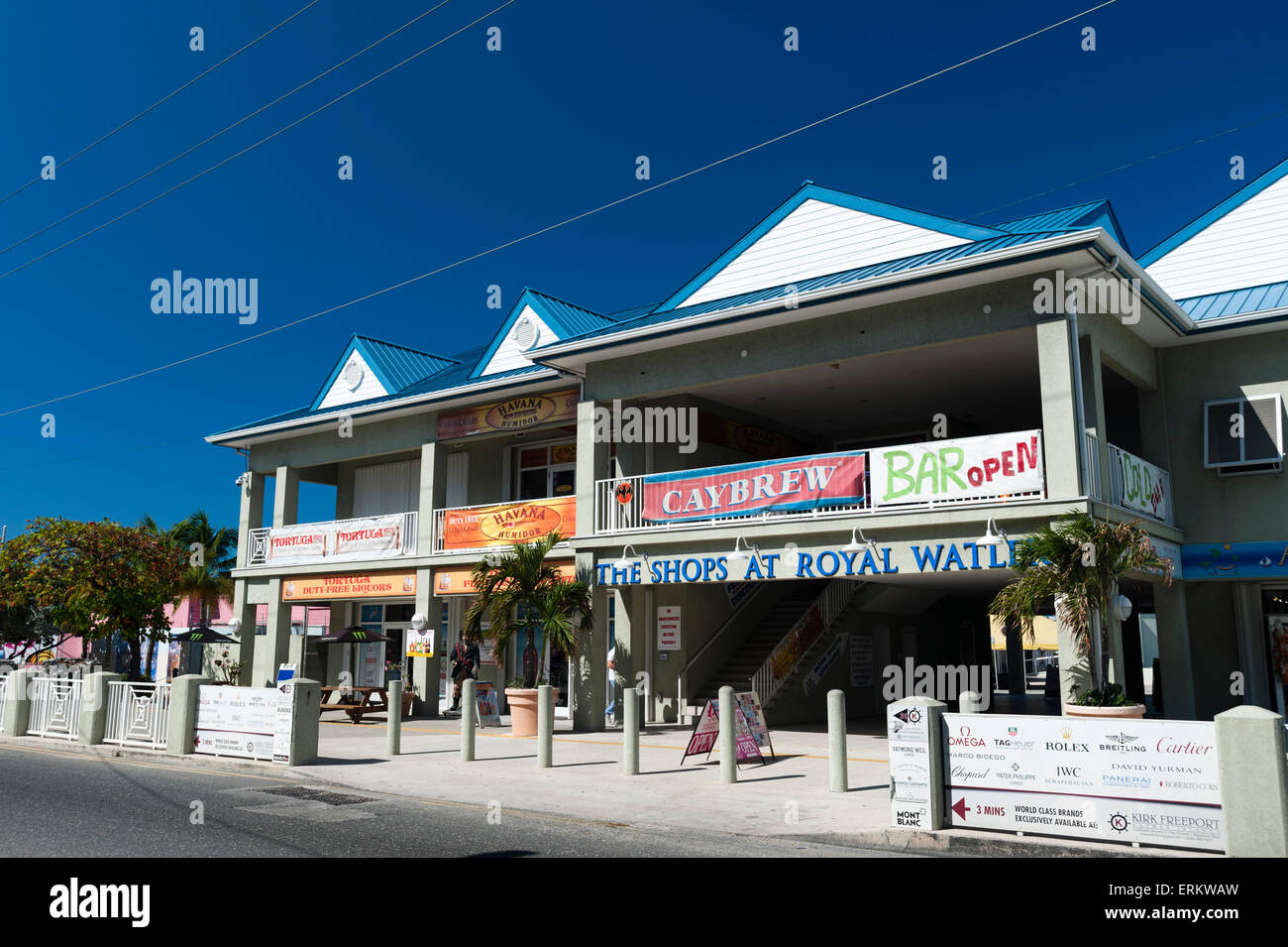 Georgetown, Grand Cayman, Cayman Islands, West Indies, Caribbean, Central America - Stock Image