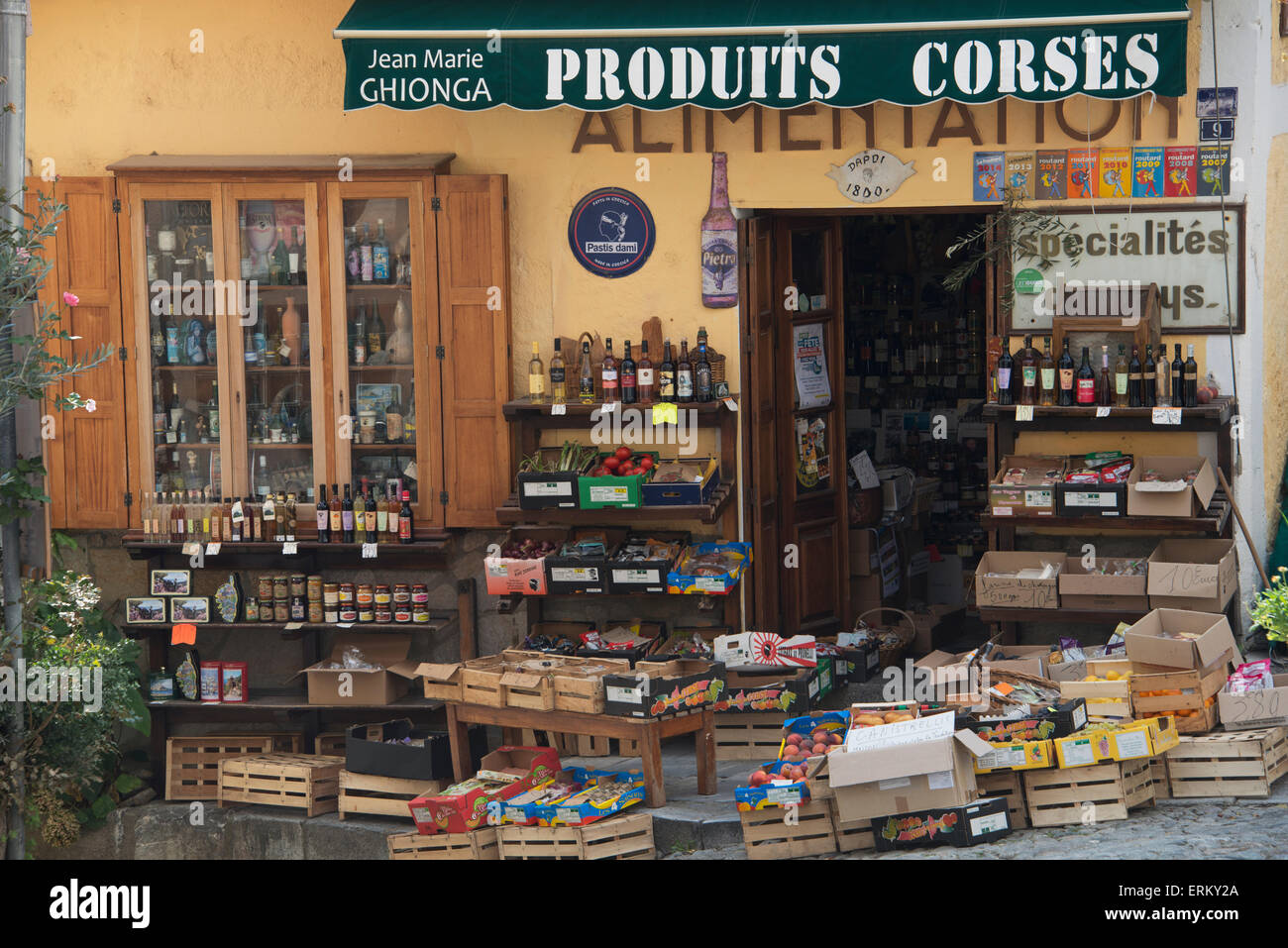 outlet store e42d0 6d41d Display of Corsican products for sale; Corte, Haute-corse ...