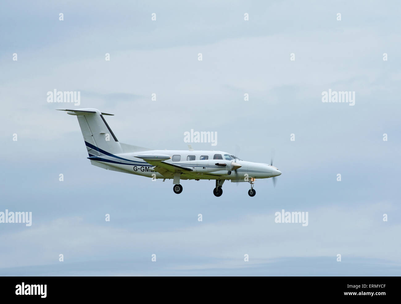 Piper PA-42-720 Cheyenne IIIA.  SCO 9847. - Stock Image