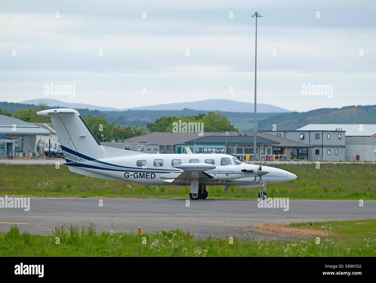 Piper PA-42-720 Cheyenne IIIA. SCO 9848. - Stock Image