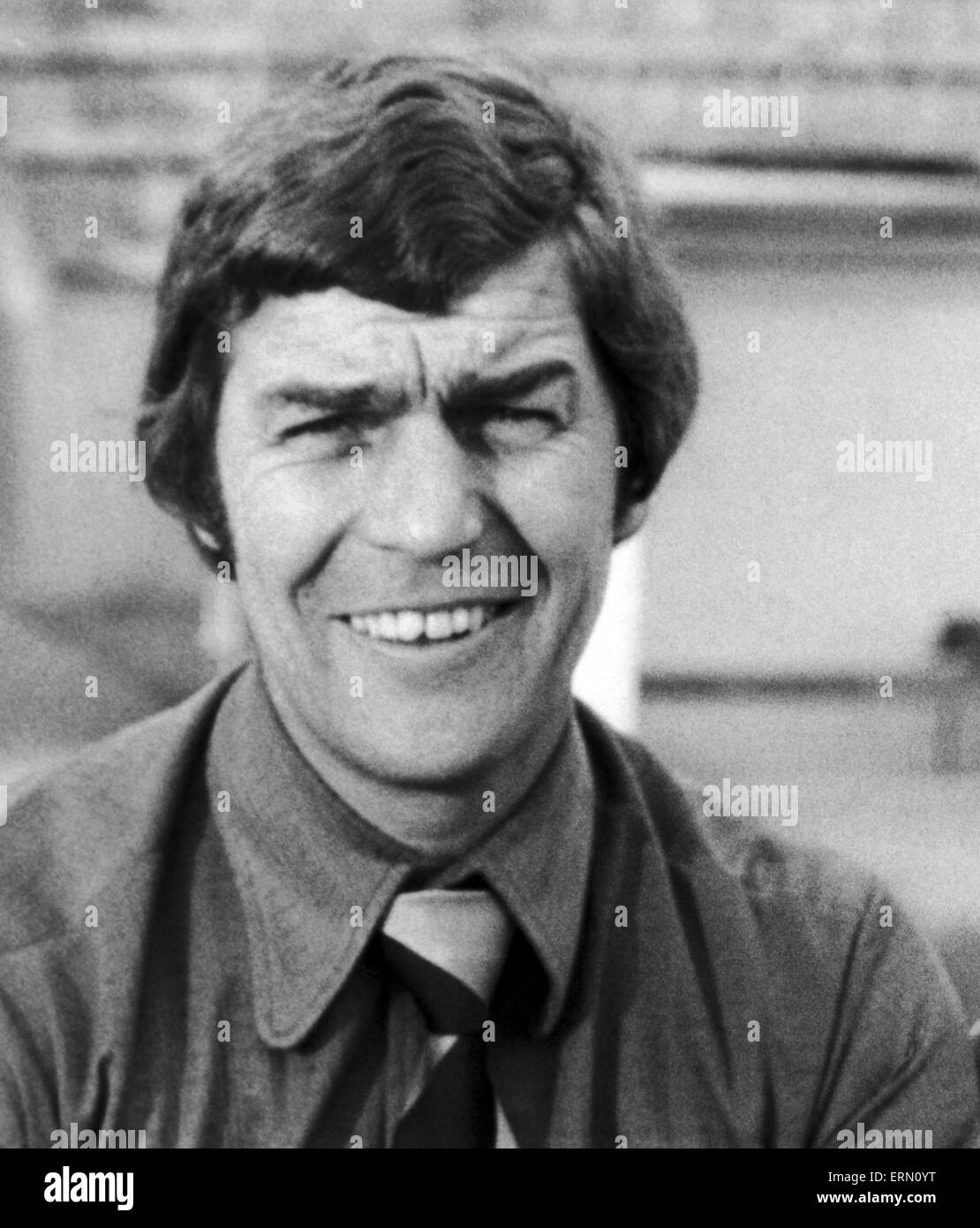 Geoff Coleman, Nuneaton Borough FC Manager. 19th August 1974. - Stock Image