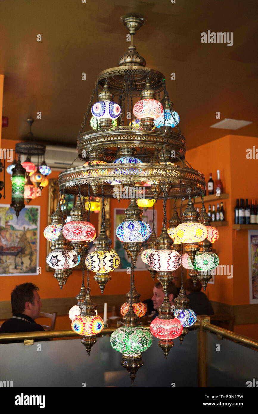 Turkish lanternsturkish lightingturkish hanging lamps turkish turkish lanternsturkish lightingturkish hanging lamps turkish chandelier inside a restaurant with people aloadofball Image collections