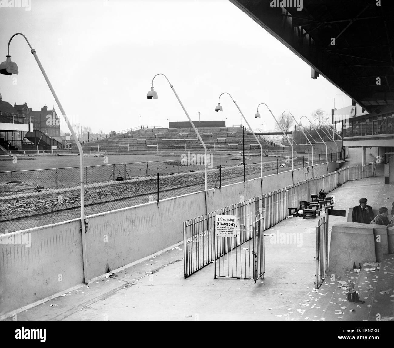 Catford Stadium, 12th February 1950. - Stock Image