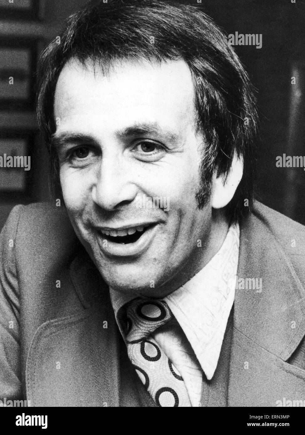 Don Maclean, actor and comedian, 18th May 1973. - Stock Image