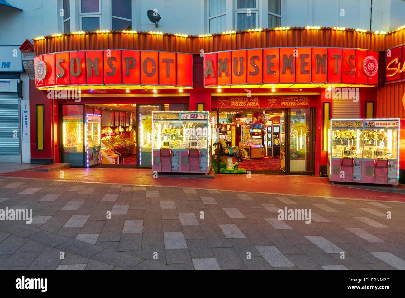 Sunsopt Amusements Southend On Sea, Essex - Stock Image