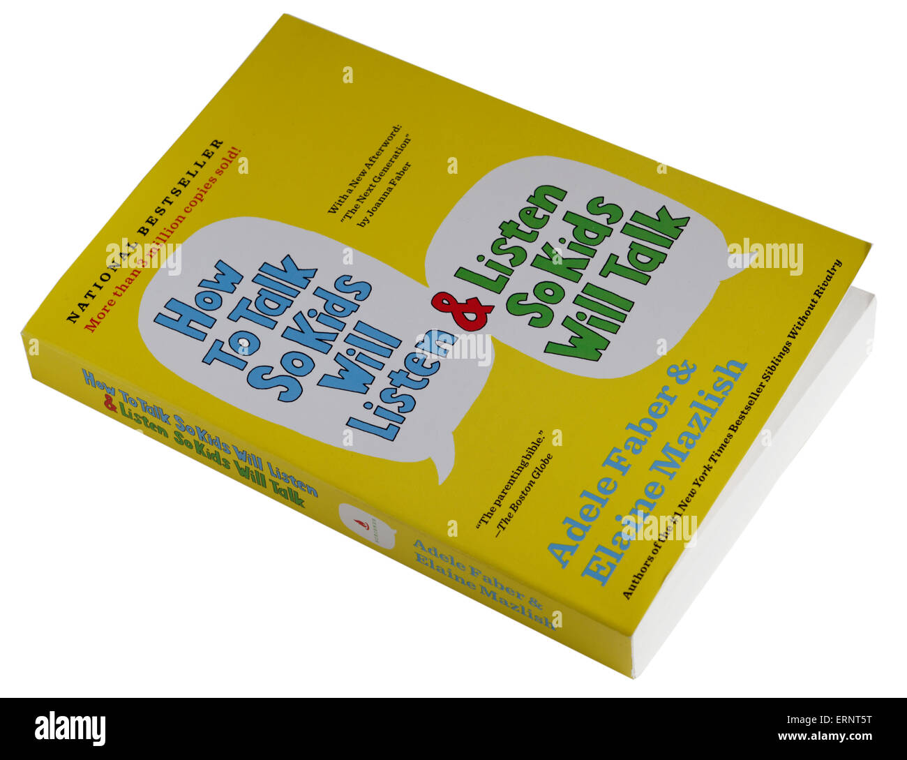 How to Talk so Kids Will Listen by Adele Faber and Elaine Mazlish - Stock Image