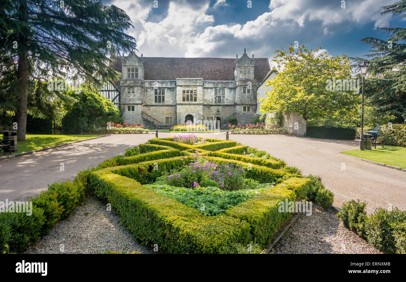 Archbishop's Palace and Gardens, Maidstone, Kent - Stock Image