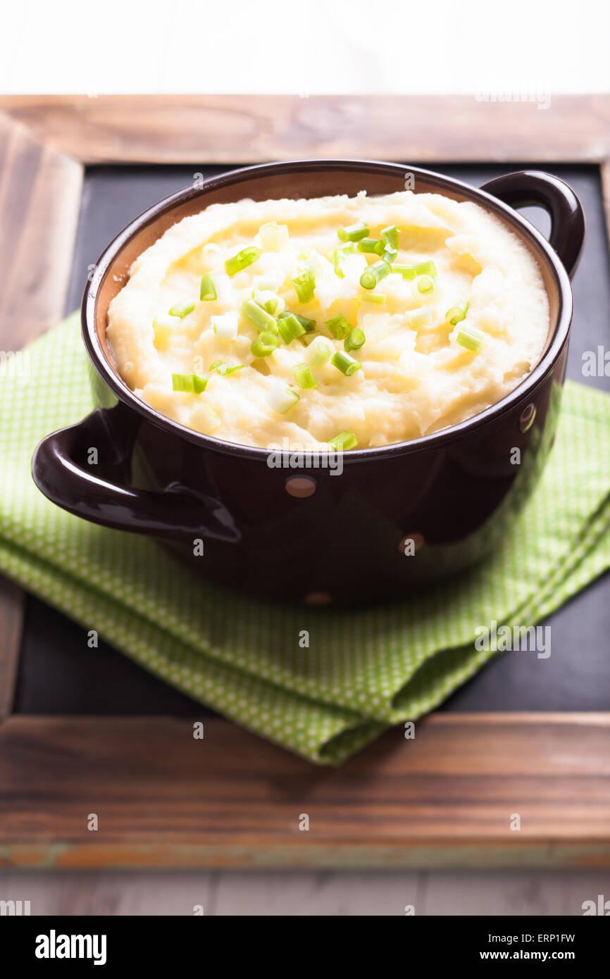 Mashed potato - Stock Image