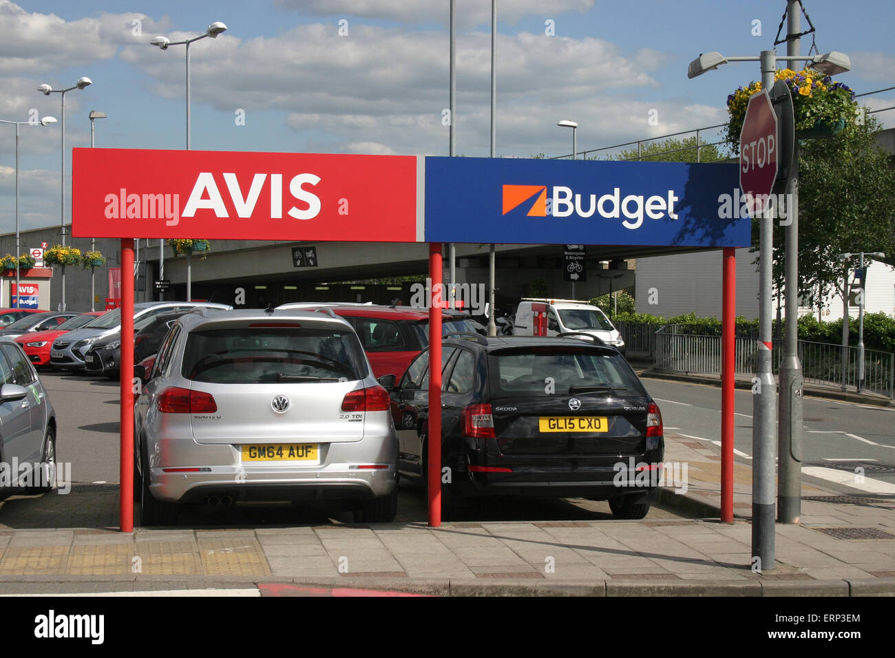 AVIS BUDGET CAR HIRE Stock Photo - Alamy