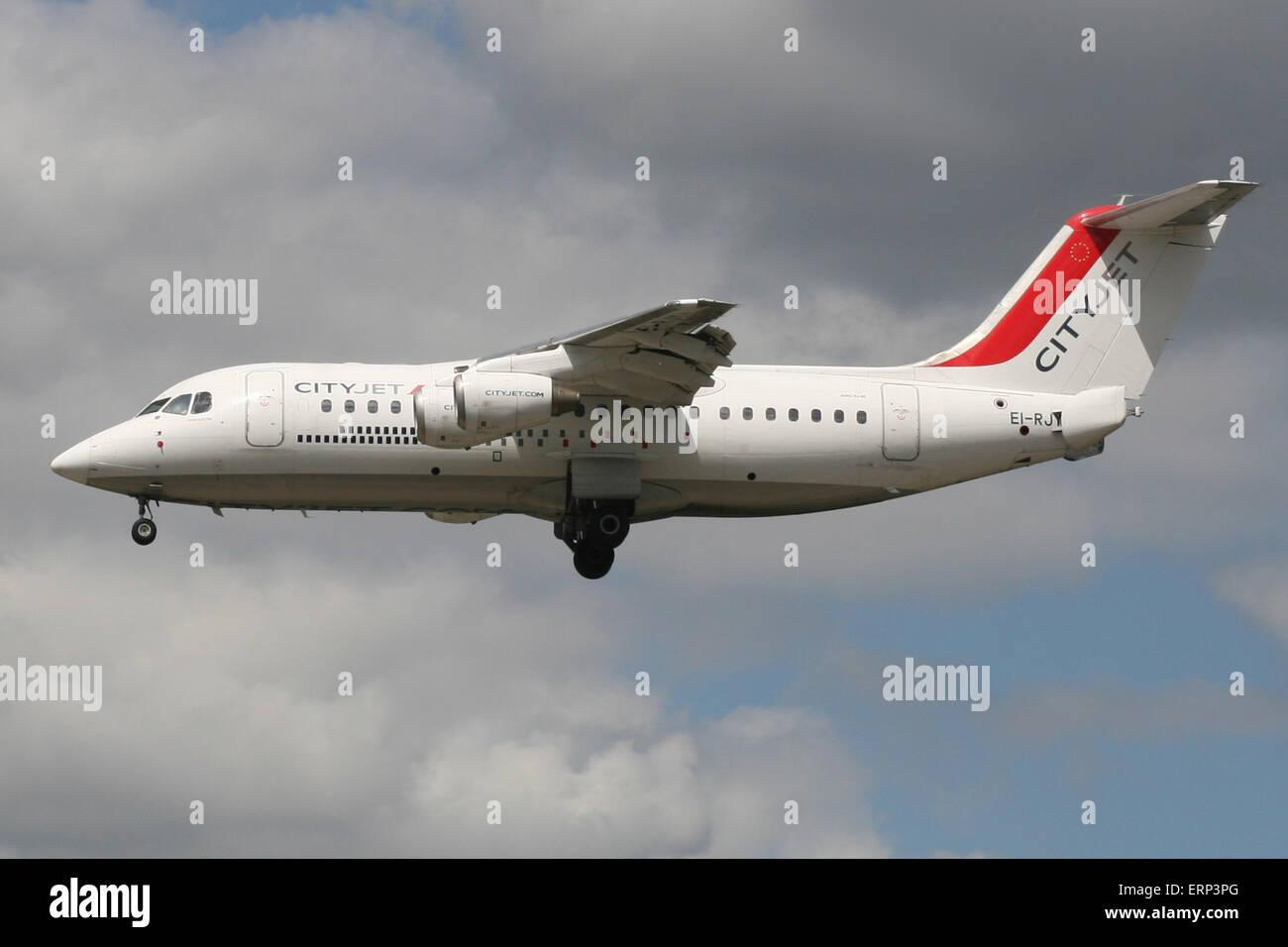 CITYJET BAE 146 RJ - Stock Image