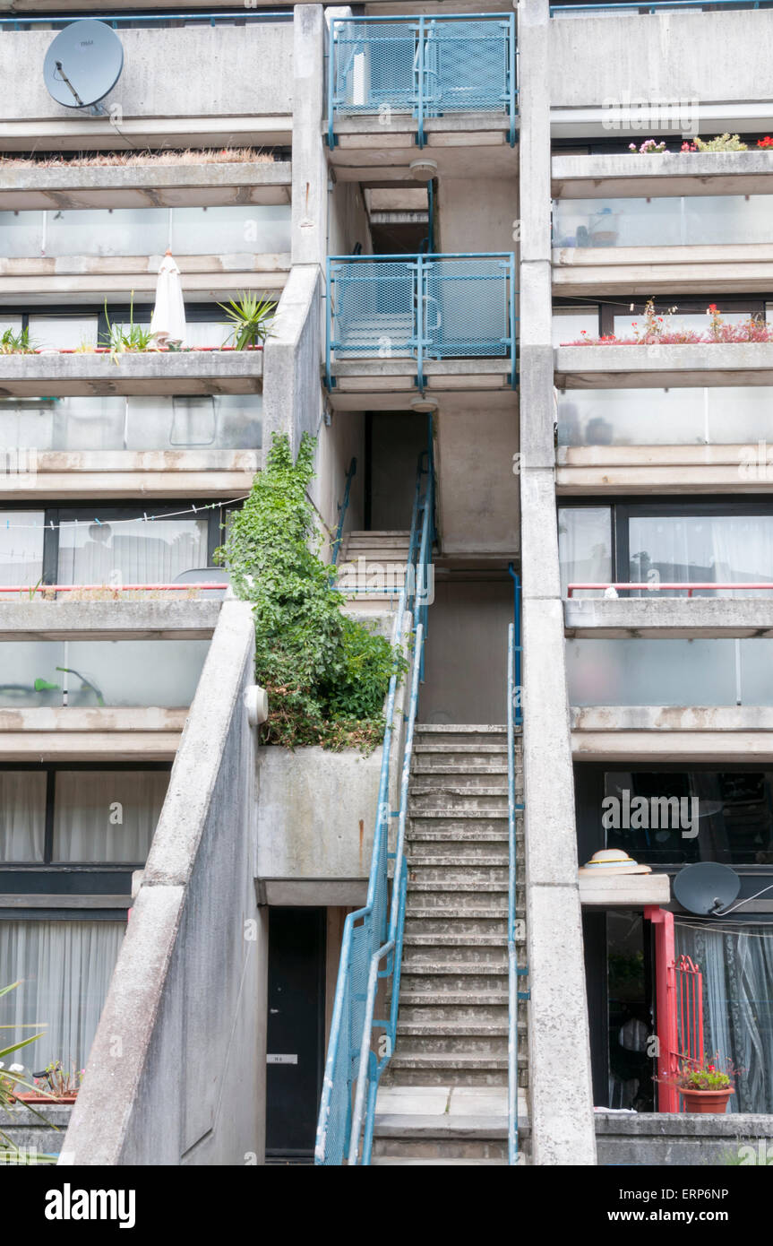 The Alexandra and Ainsworth estate in Camden, North West London. Stock Photo