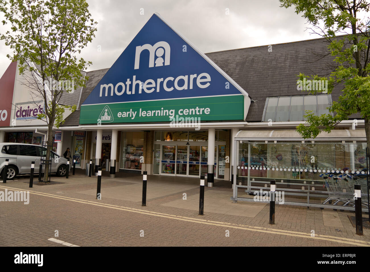 A Mothercare shop front - Stock Image