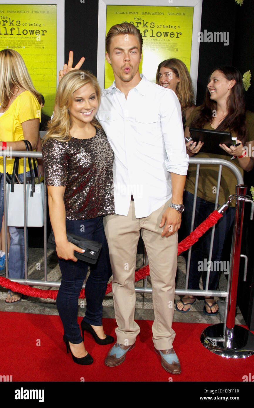 Shawn johnson dating derek hough