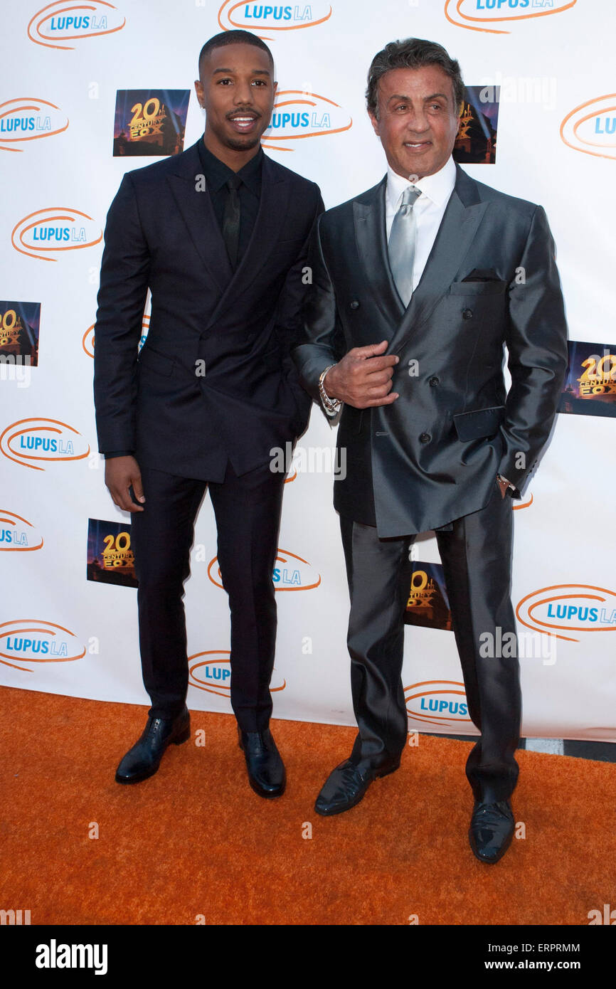 Adolescencia Granjero robot  Los Angeles, California, USA. 6th June, 2015. Michael B. Jordan and Stock  Photo - Alamy