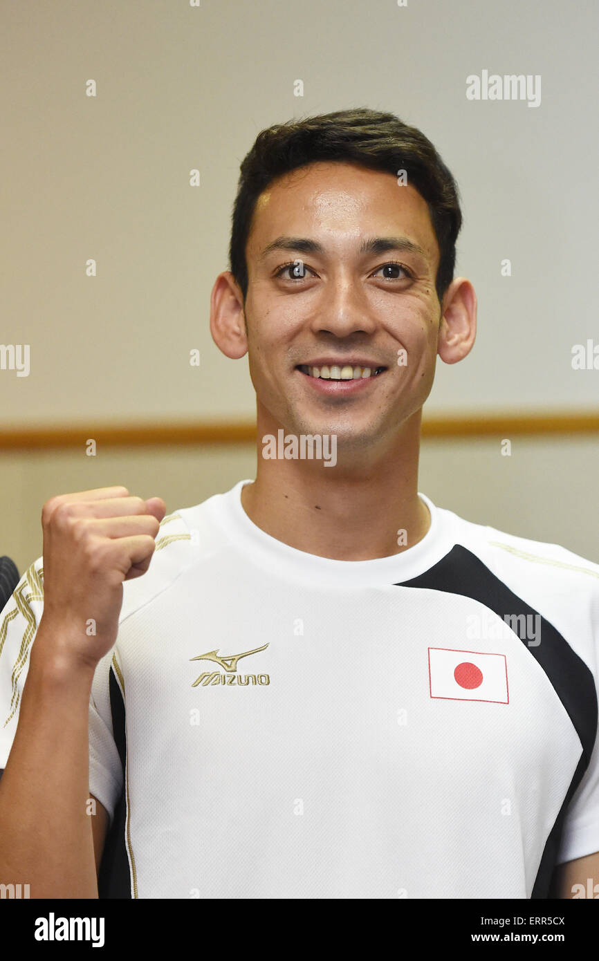 China and qualified for the Rio 2016 Olympic Games. 7th June, 2015. Tomoya Miguchi (JPN), JUNE 7, 2015 - Modern Stock Photo