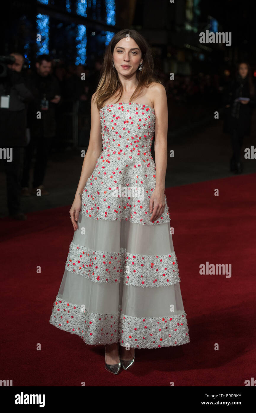 'Exodus: Gods and Kings 3D' - UK premiere - Arrivals  Featuring: María Valverde Where: London, United - Stock Image