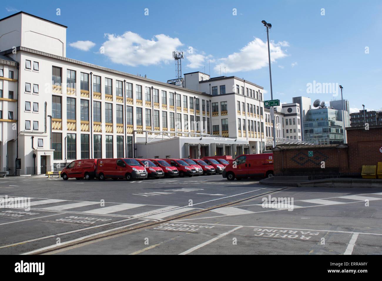 The Mount Pleasant Mail Centre, Farringdon Road, London, EC1, UK - Stock Image