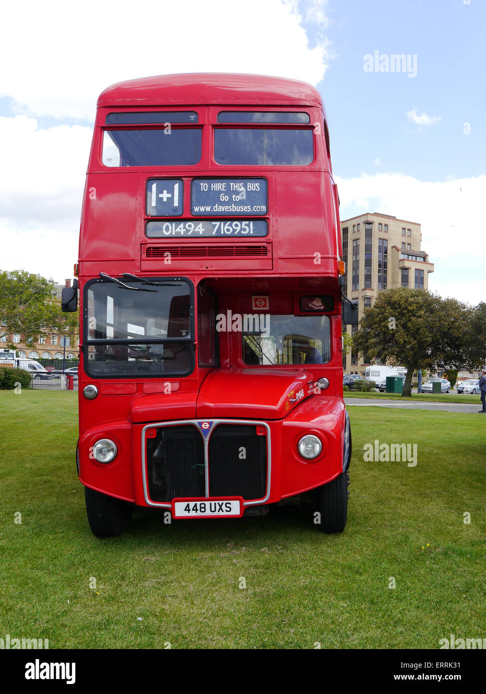 448 UXS AEC London Routemaster - Stock Image