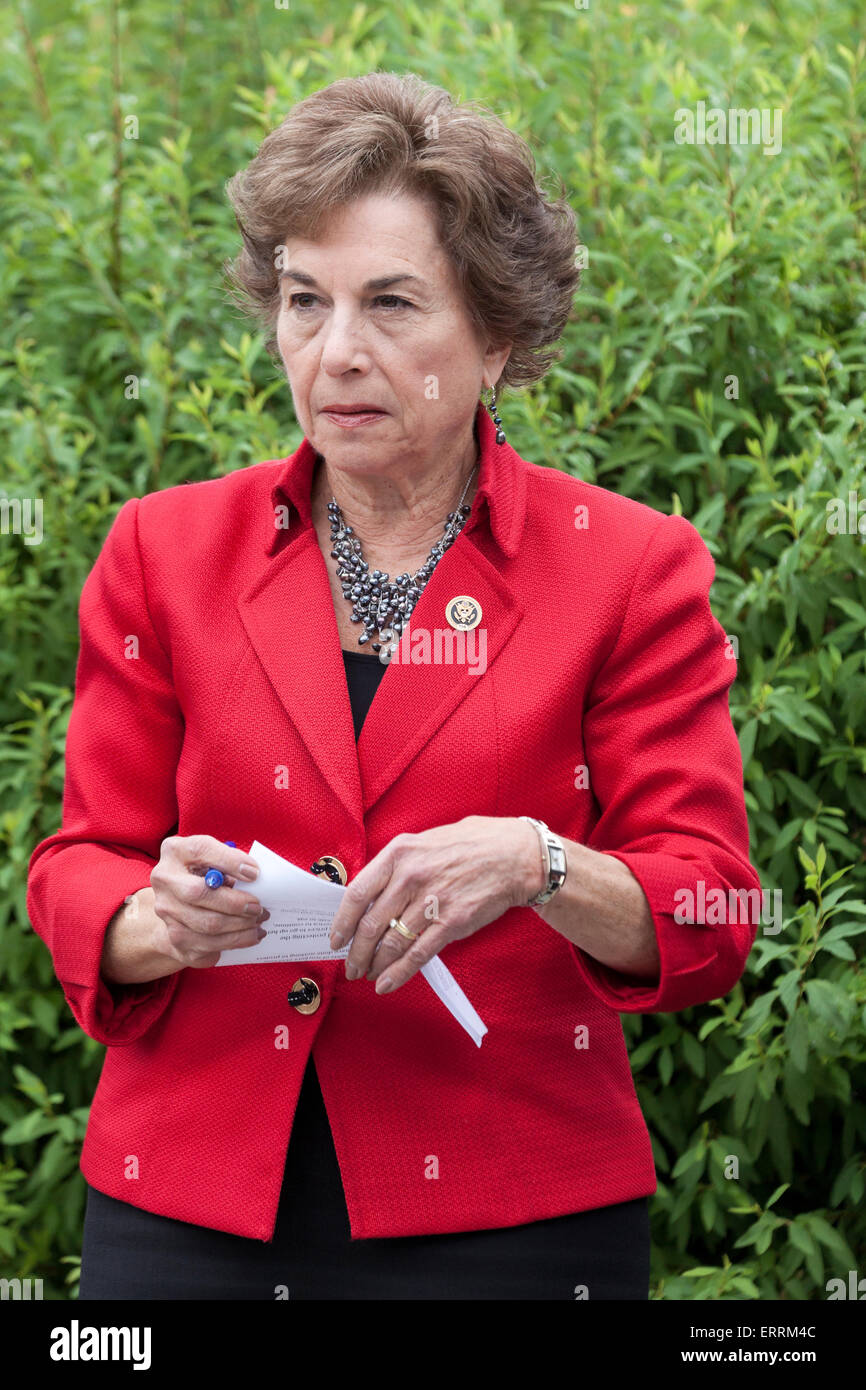 Jan Schakowsky, Illinois congresswoman - Washington, DC USA - Stock Image