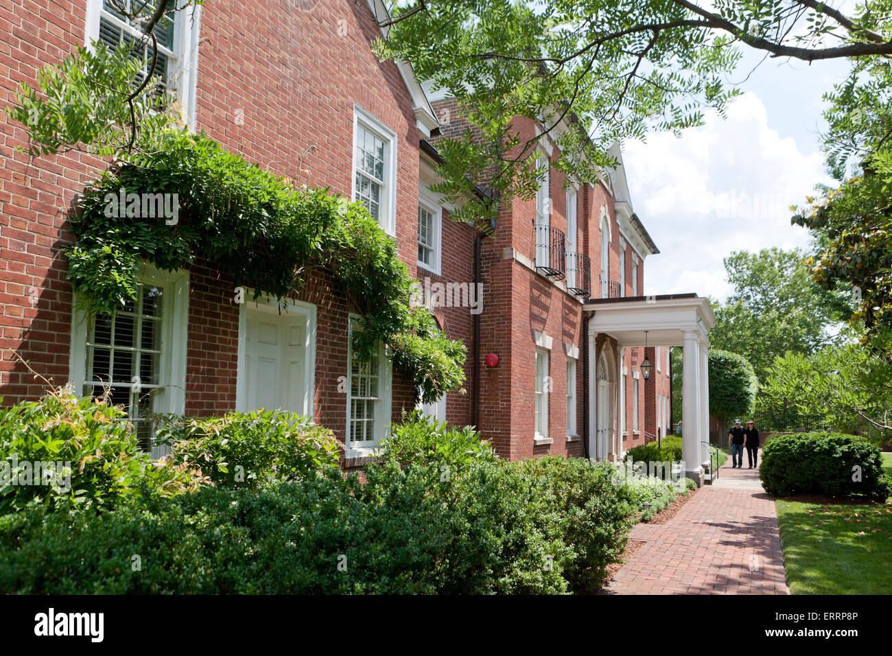 Dumbarton House - Washington, DC USA - Stock Image