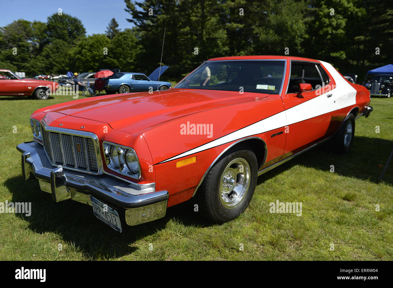 New Ford Gran Torino >> June 7 2015 Old Westbury New York United States A Red And