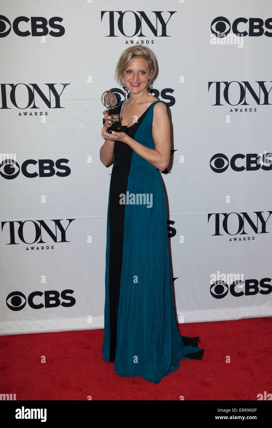 New York, NY, USA. 7th June, 2015. Marianne Elliott in the press room for The 69th Annual Tony Awards 2015 - Press - Stock Image