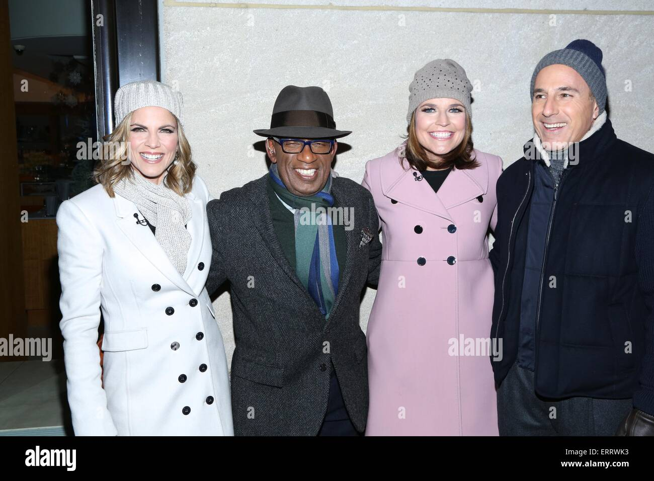 The 82nd annual Rockefeller Christmas Tree Lighting Ceremony at Rockefeller Center Featuring Natalie MoralesAl RokerSavannah Guthrieand Matt Lauer ...  sc 1 st  Alamy & The 82nd annual Rockefeller Christmas Tree Lighting Ceremony at ...