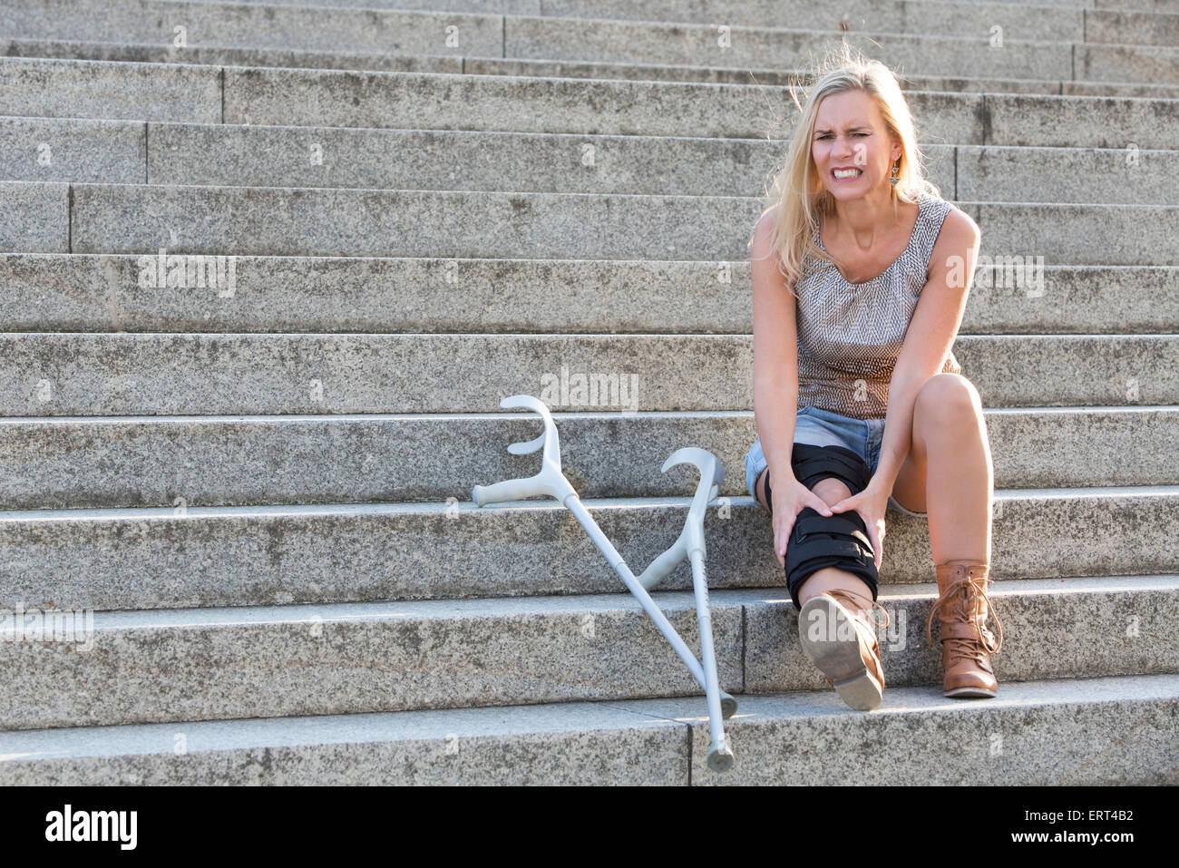 Crutches Stairs Stock Photos Crutches Stairs Stock Images Alamy
