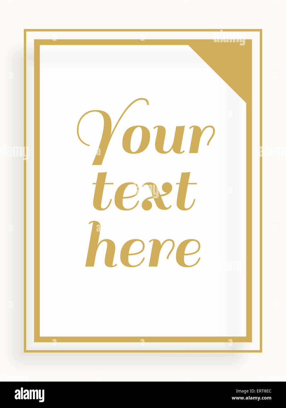 Simple White Picture Frame Stock Photos & Simple White Picture Frame ...