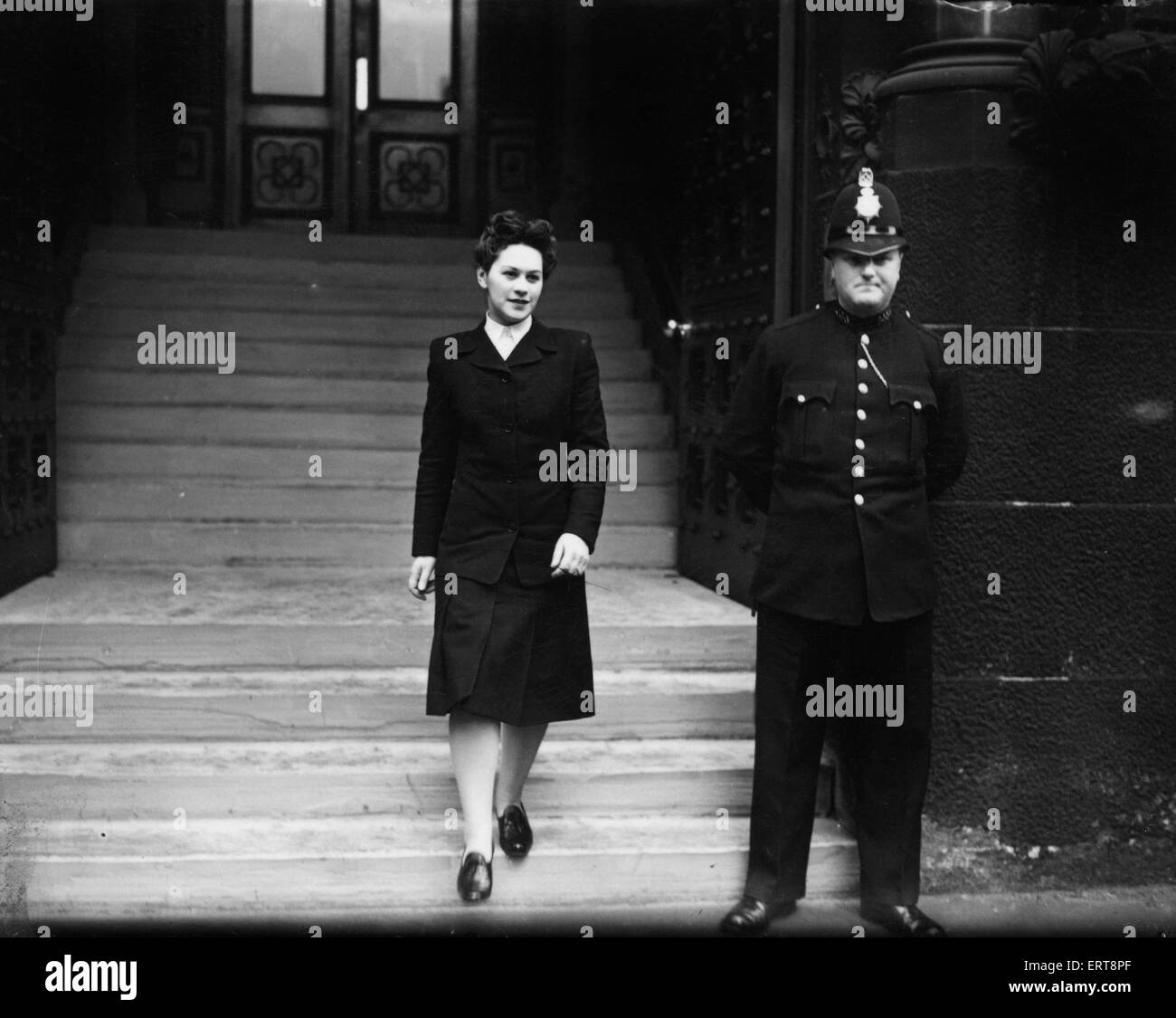 Miss Rose Heilbron barrister of law 30th April 1946 - Stock Image