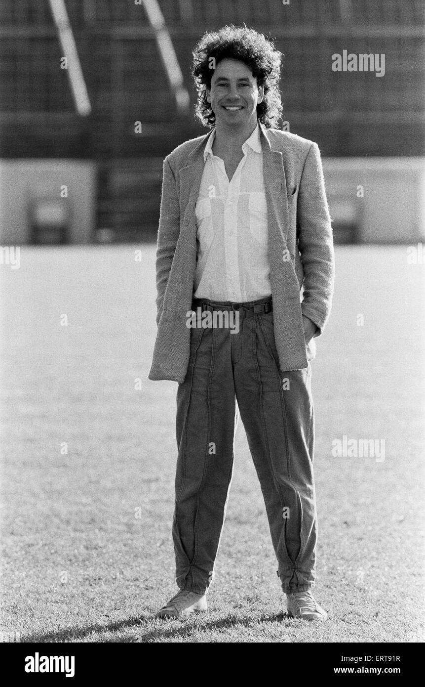 Leyton Orient F.C. footballer Barry Silkman. 25th January 1985. - Stock Image