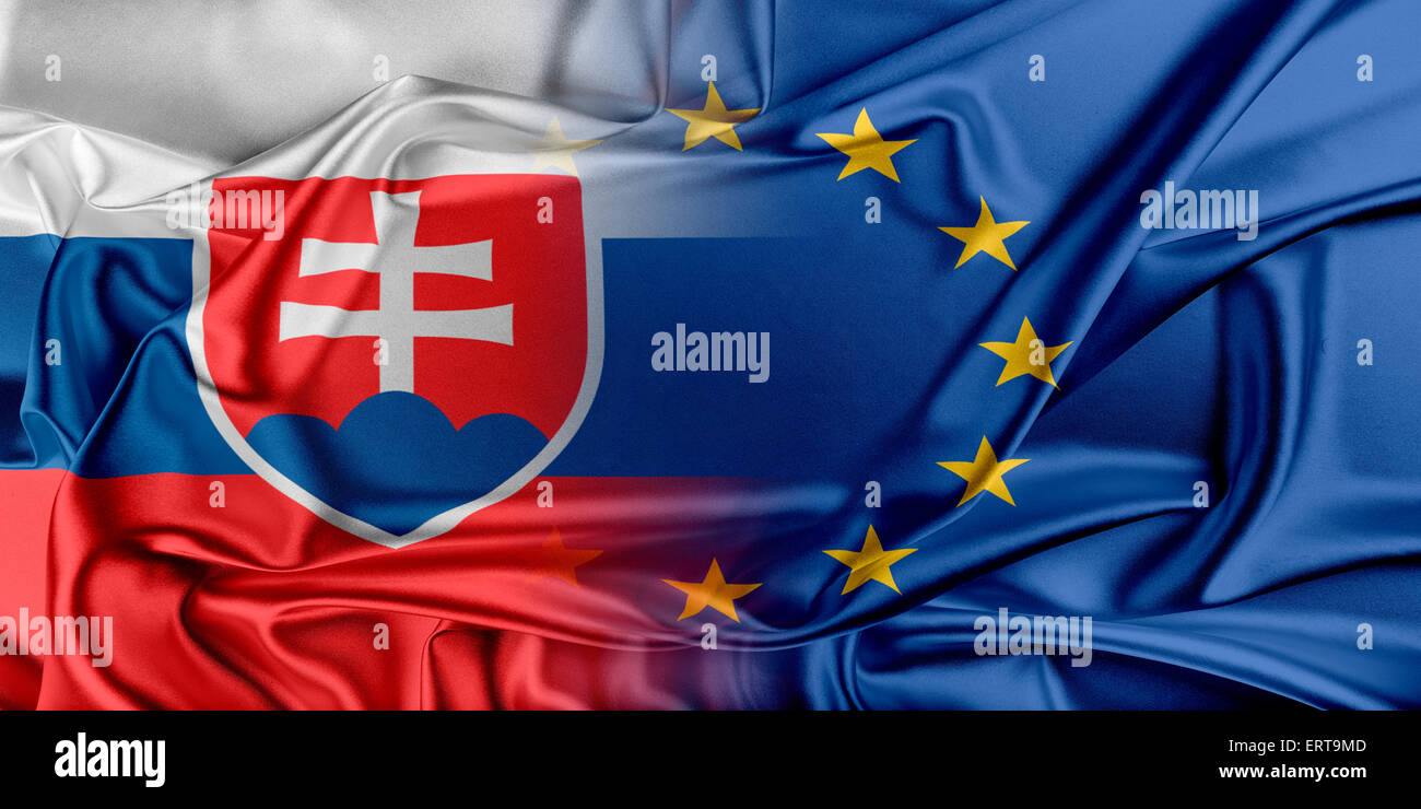 21cc657ded Slovakia Eu Flag Stock Photos   Slovakia Eu Flag Stock Images - Alamy