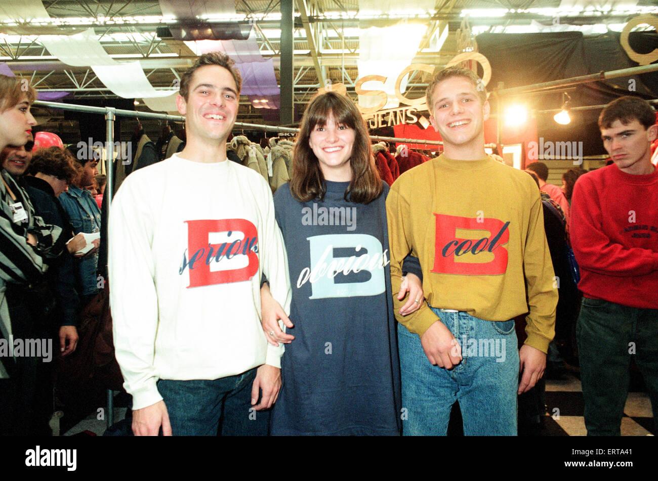 Clothes Show Live, NEC, Birmingham, 7th December 1991. - Stock Image