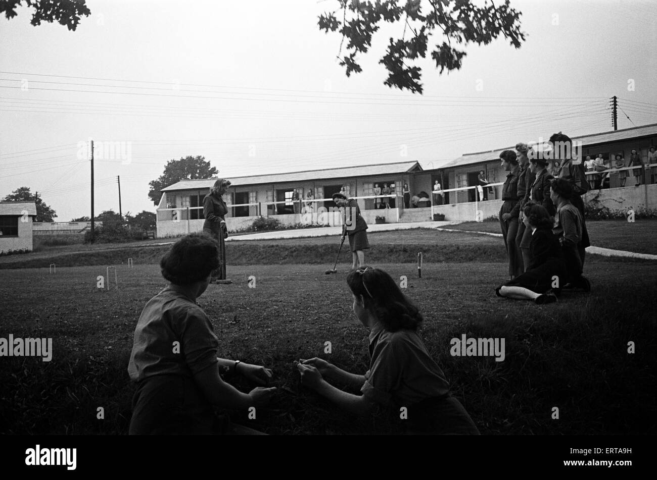 British Legion Sanatorium at Nayland, Suffolk. Circa 1946. - Stock Image