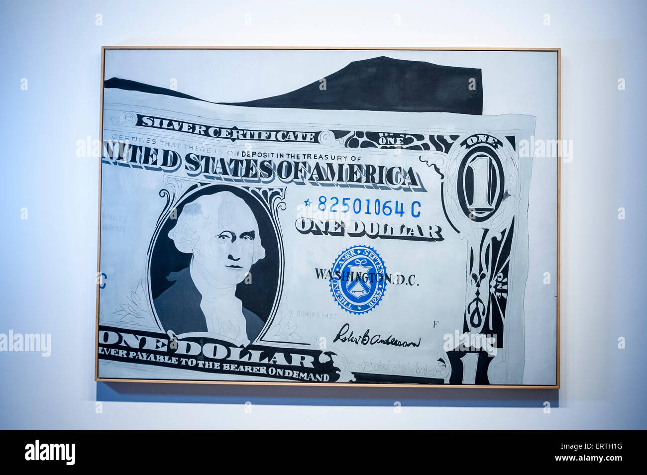London Uk 8th June 2015 Silver Certificate By Andy Warhol Est